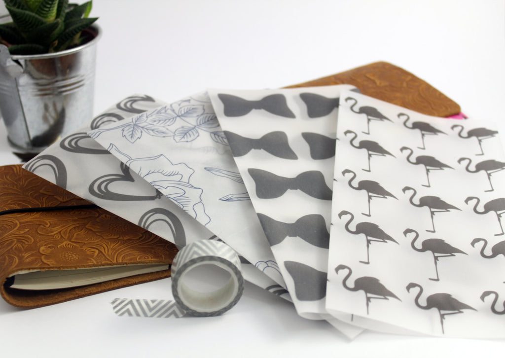 Classic Black Vellum Set - BrookeEvahPrints