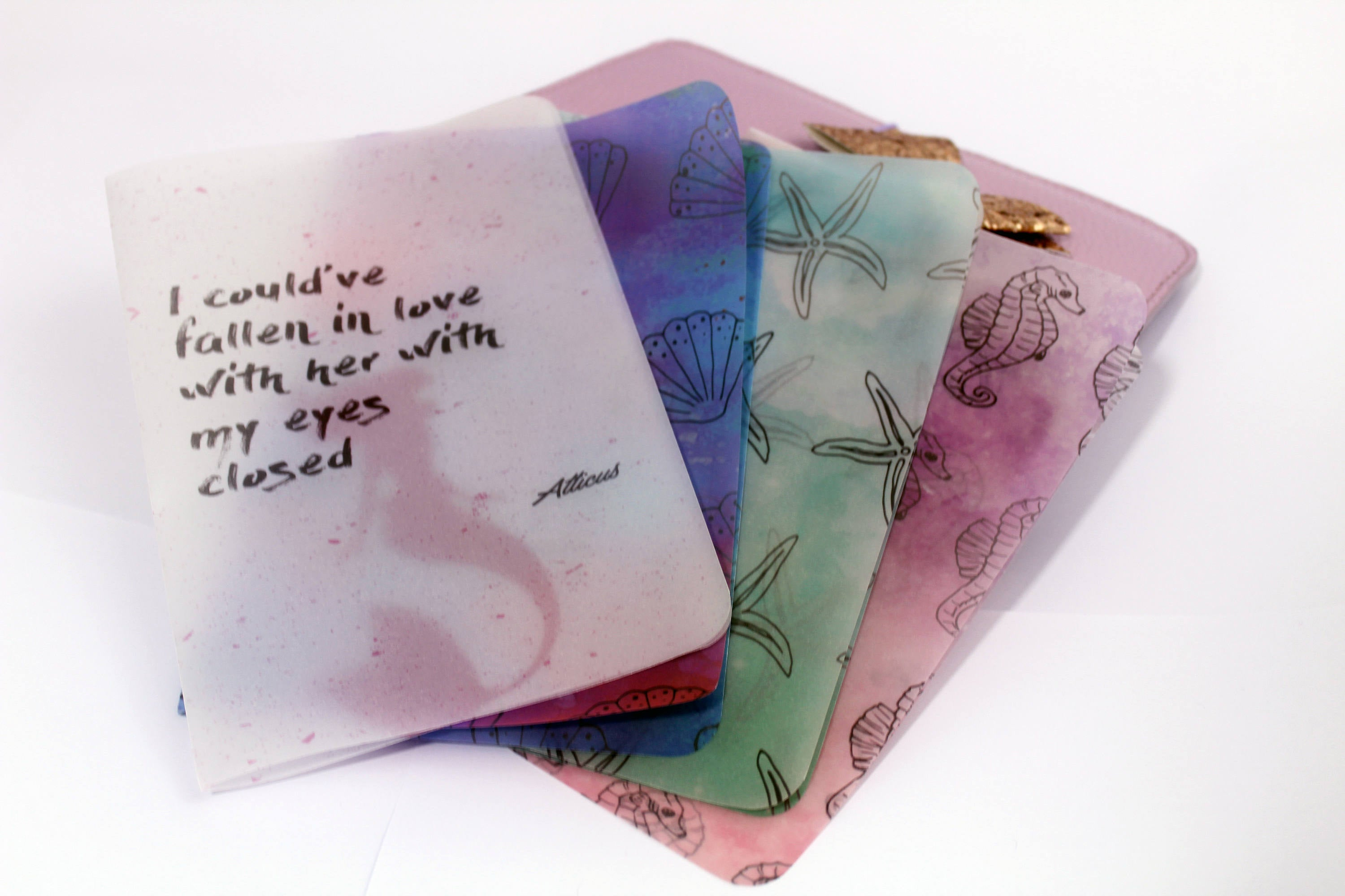 Mermaid Vellum Set - BrookeEvahPrints