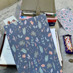 Tomoe River Planner Dashboard - Navy Florals 3