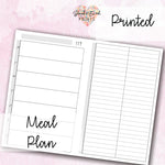Neutral Meal Planner - BrookeEvahPrints