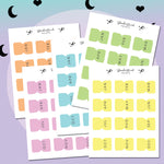 Monthly Sticker Tabs
