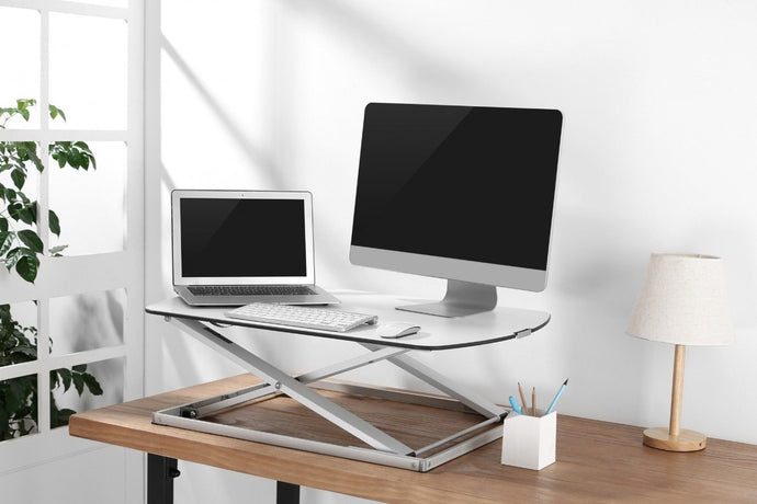 Get benefits of the sit-stand desk without changing your existing infrastructure by getting sit-stand desk convertor