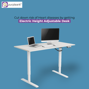 Cut down risk of Heart diseases by getting electric height adjustable desk