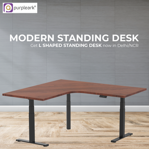L shaped Standing Desk