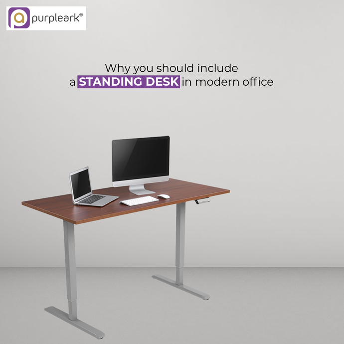 Why you should include a Standing desk in a modern office