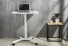 Sit Stand Mobile Desk - Laptop