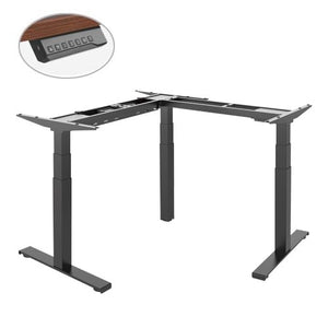 Electric Sit Stand Desk, L Shape