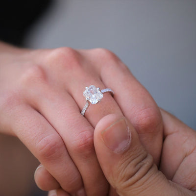 The Birth of a Diamond Ring