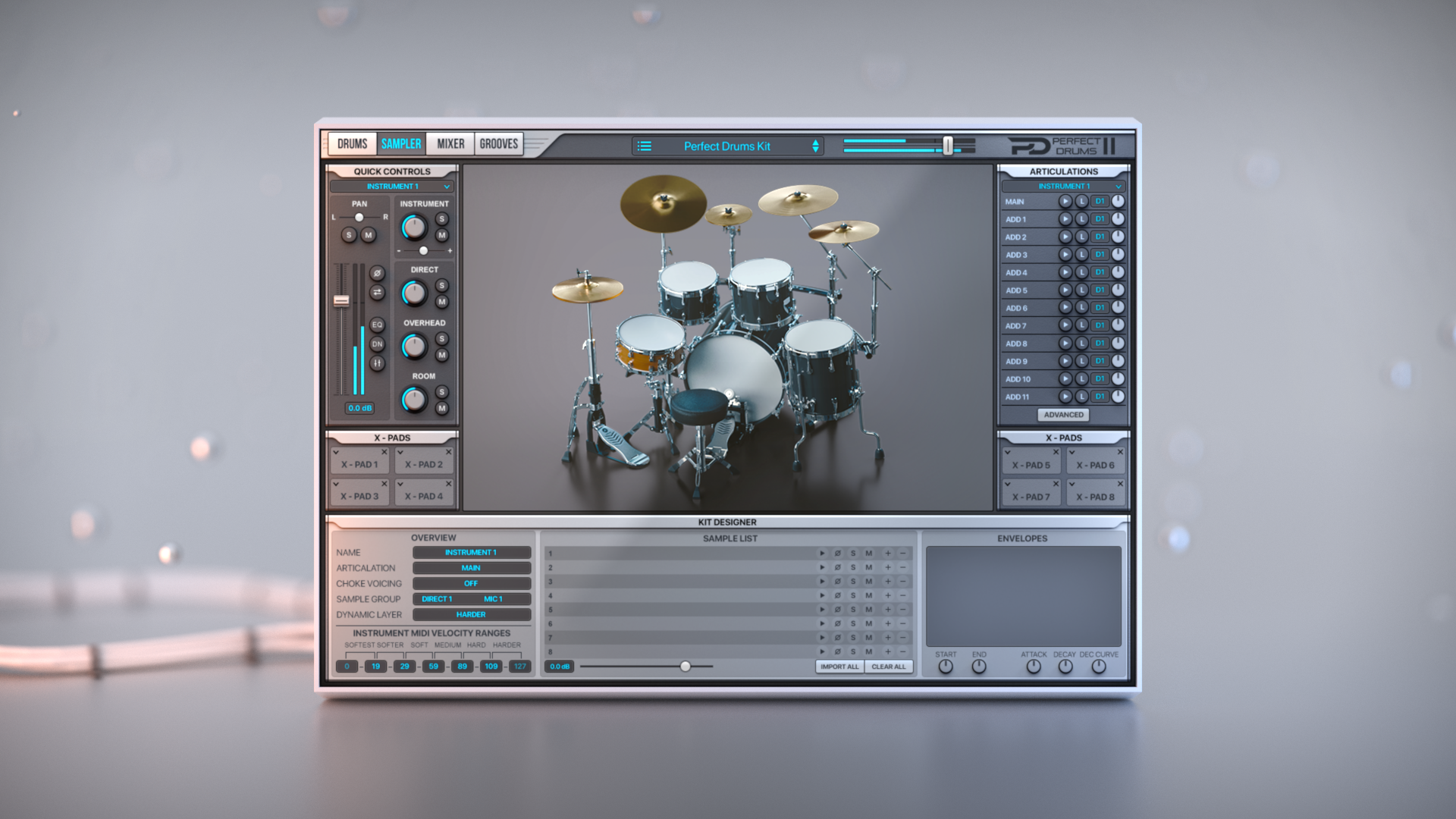 Perfect Drums VST Plugin