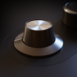 3D knob for audio interface