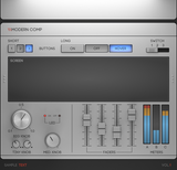 silver ui psd knob kit for vst audio plugin