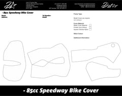 D-Star 85cc Speedway Bike Covers - Motorcycle Chapel