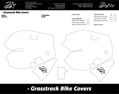 D-Star Grasstrack Bike Cover