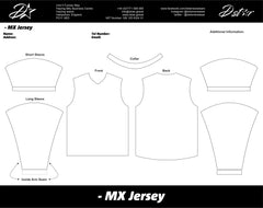 D-Star Custom MX Jersey Speedway Top