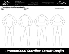 D-Star Promo Grid Girl Outfits - Catsuits