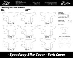 dstar speedway front fork cover