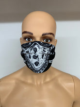 dstar racewear floral face mask - breathable material face covering uk - D-Star Racewear - bike mask