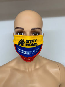 dstar racewear floral face mask - breathable material face covering uk - D-Star Racewear