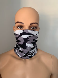 Snow Camo Snood Scarf