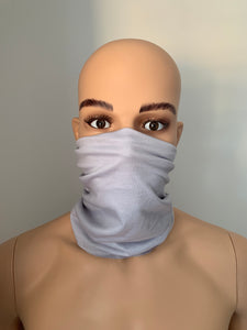 Light Grey Snood Scarf