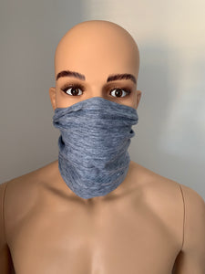 Heather Grey Snood Scarf