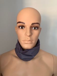 Dark Grey Snood Scarf