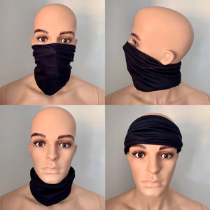 Black Snood Scarf