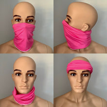 Pink Snood Scarf