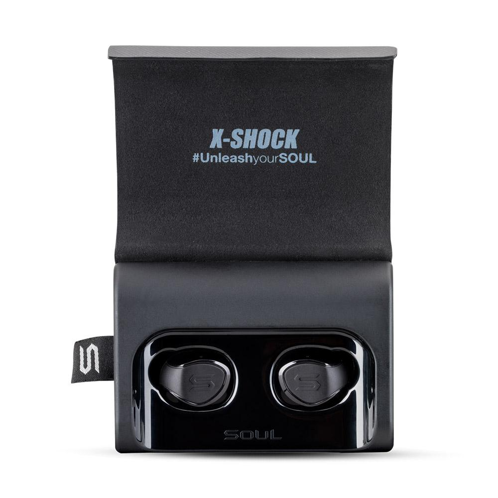 X-Shock Bluetooth True Wireless Earphone auto paring music control phone call | SOUL Electronics