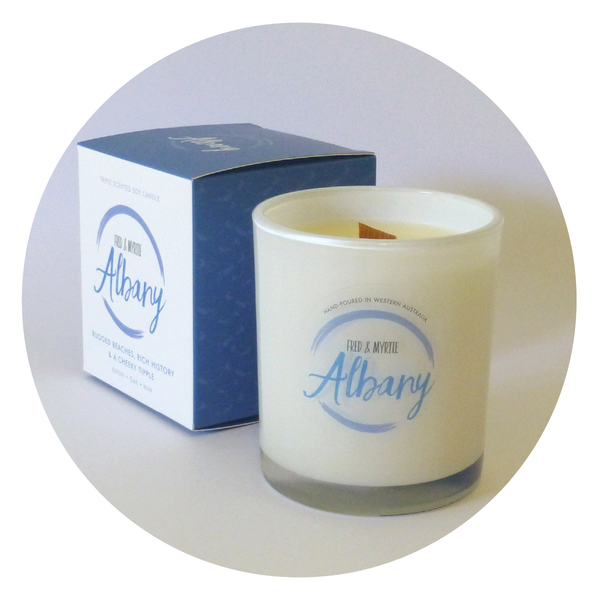 Albany - Triple Scented Soy Candle