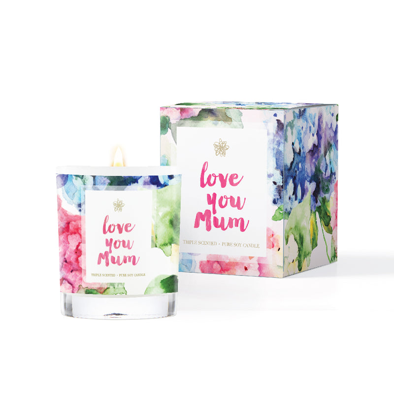 'Love You Mum' Soy Candle 220ml