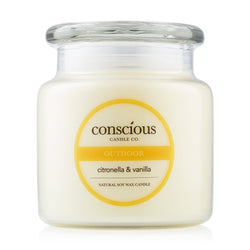 Vanilla & Citronella 510g OUTDOOR Natural Soy Candle