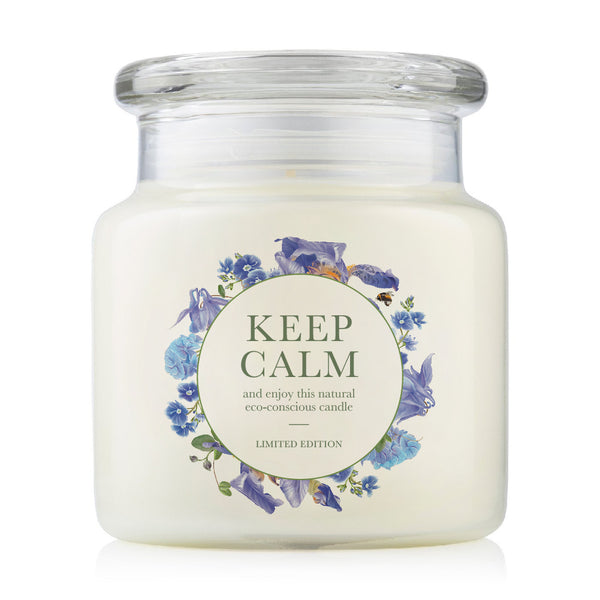 Keep Calm 510g Natural Soy Candle
