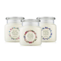 Stay Home Bundle 510g Natural Soy Candle
