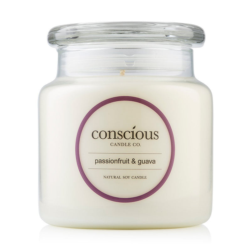 Passionfruit & Guava 510g Natural Soy Candle
