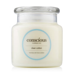Clean Cotton 510g Natural Soy Candle