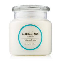 Coconut & Lime 510g Natural Soy Candle