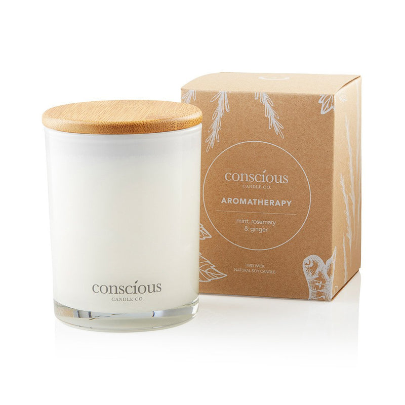 Mint, Rosemary & Ginger 270ml Aromatherapy Candle
