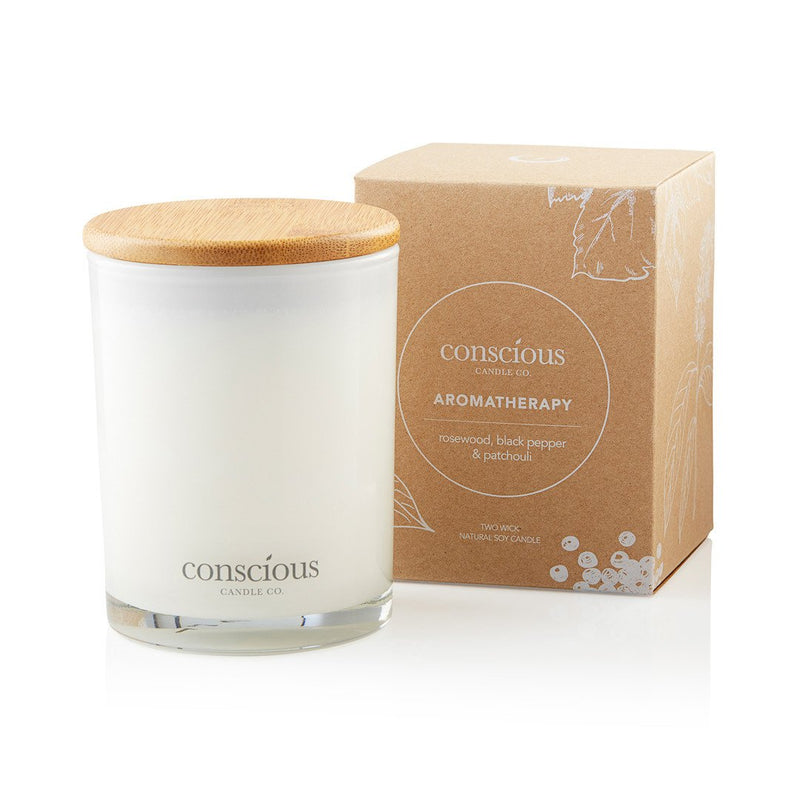 Rosewood, Black Pepper & Patchouli 270ml Aromatherapy Candle