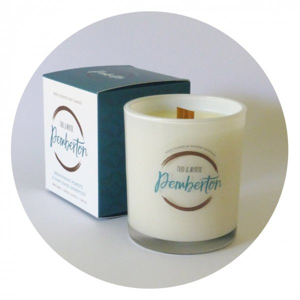 Pemberton - Triple Scented Soy Candle