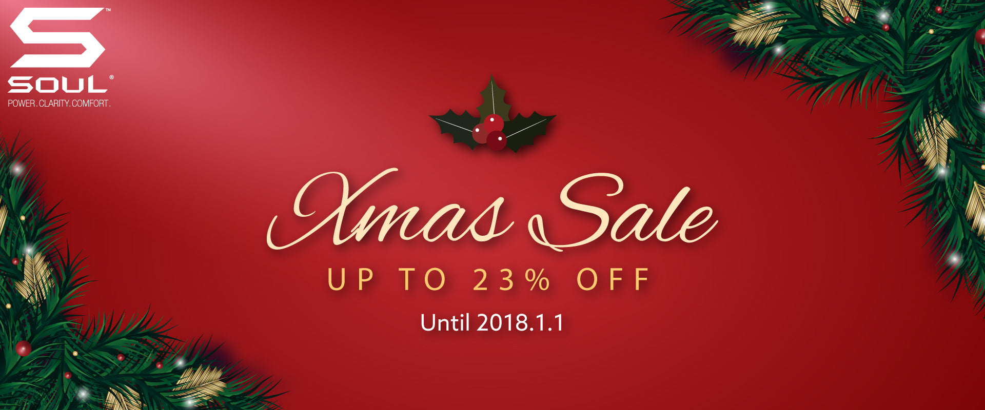 Christmas Sale & Deals 2017 | True Wireless Earbuds | SOUL Electronics