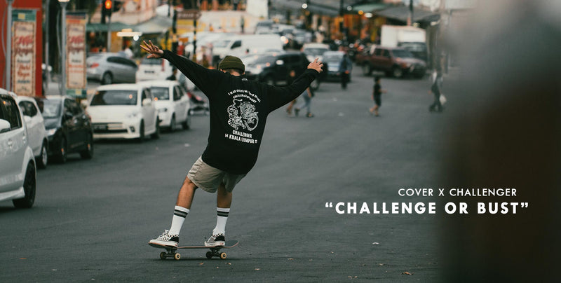 "COVER x CHALLENGER ""Challenge or Bust"""