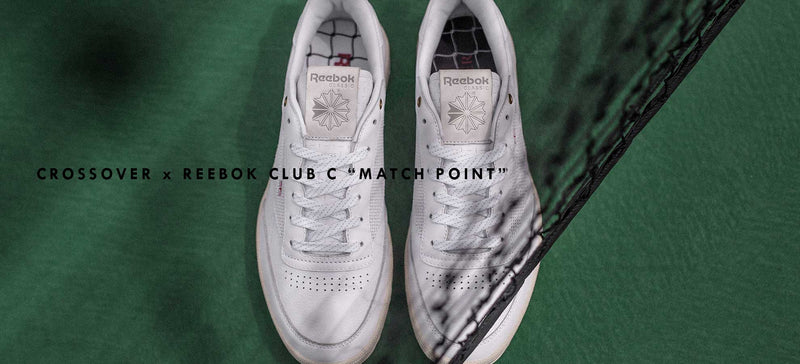 CROSSOVER x Reebok Club C