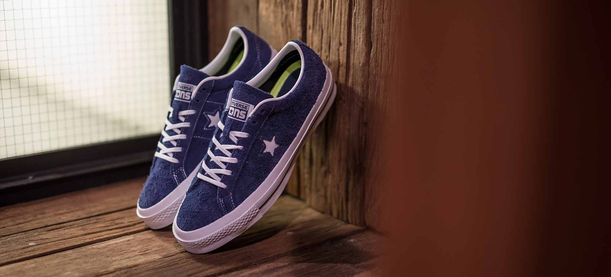 CONVERSE CONS ONE STAR 'HAIRY SUEDE' | CROSSOVER