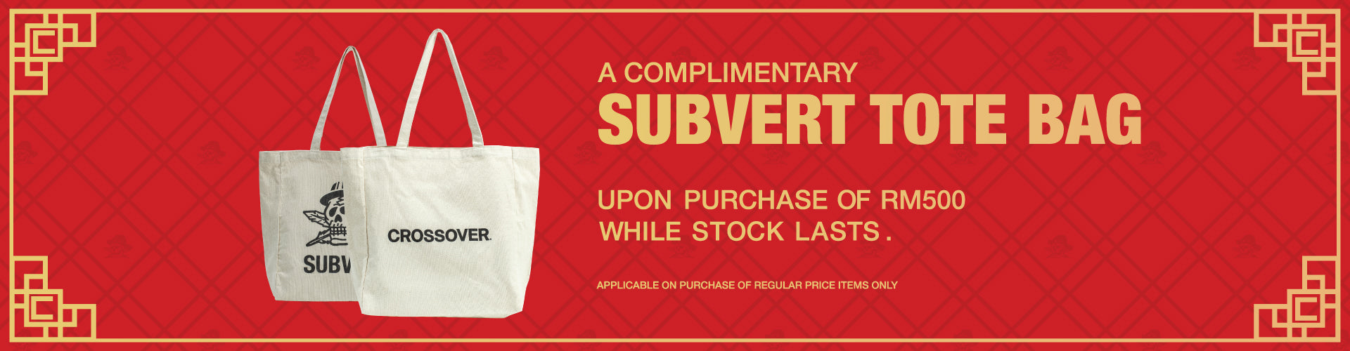 Crossover Subvert Tote Bag