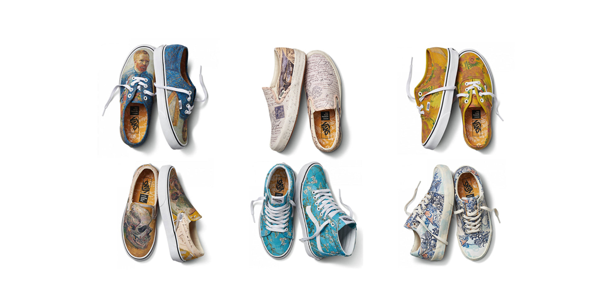 Vans x Van Gogh Museum Amsterdam Collection – CROSSOVER ONLINE