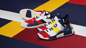 BBC x Pharrell Williams adidas Originals NMD Hu