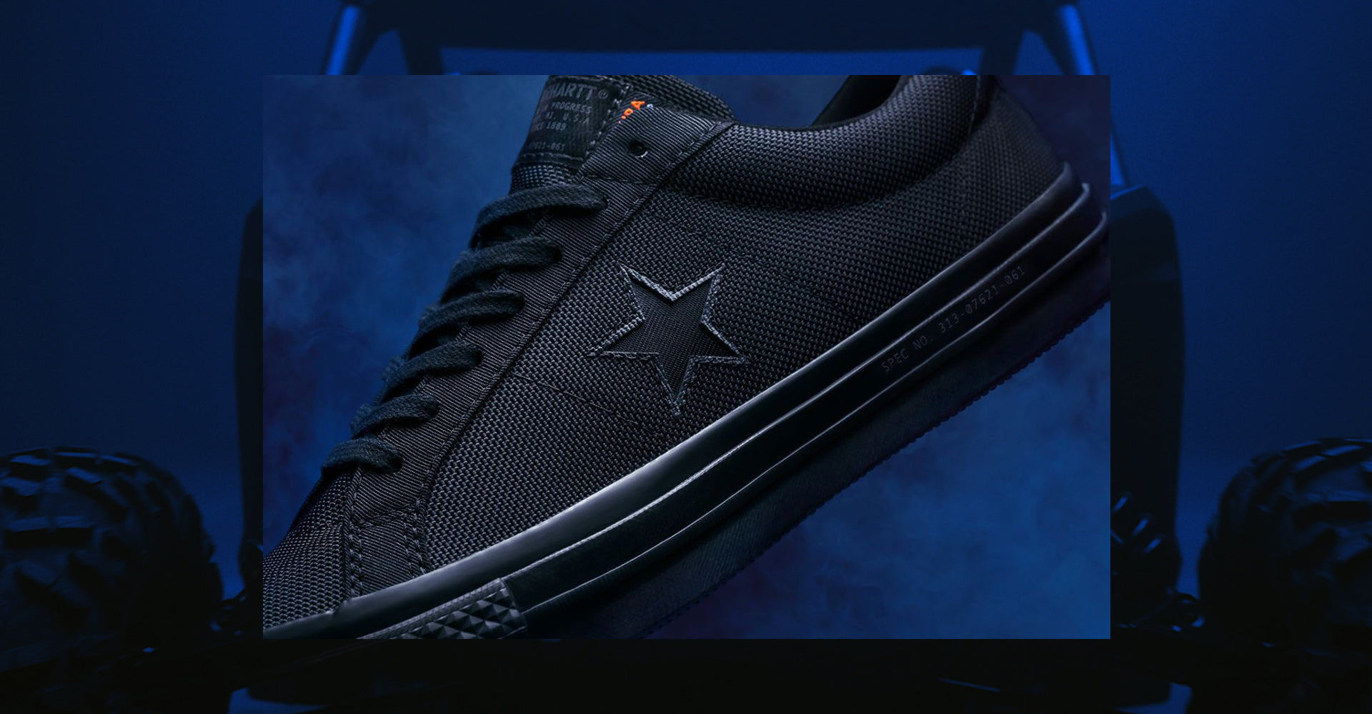 Converse x Carhartt WIP One Star 'Blue'