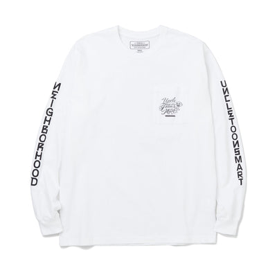Neighborhood x Mister Cartoon Toons Mart LS. Tee | White