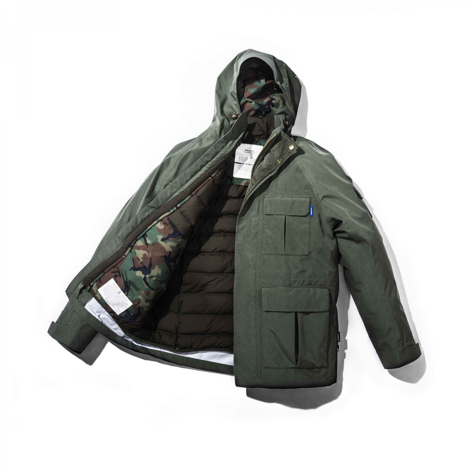 MDNS x Timberland Bear Head Down Jacket